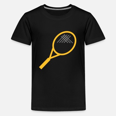 Tennis Grappig Tennis - Teenager Premium T-shirt