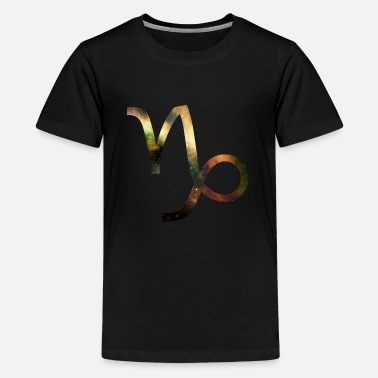 Zodiac Signs Capricorn zodiac sign / zodiac sign - Teenage Premium T-Shirt