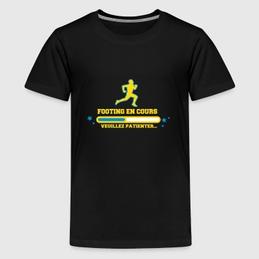 FOOTING EN COURS - T-shirt Premium Ado