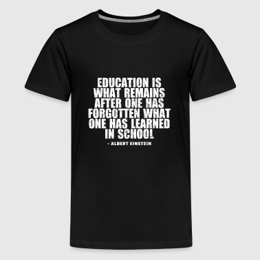 Alberte Albert Einstein - Teenage Premium T-Shirt