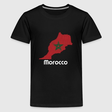 Morocco - Teenage Premium T-Shirt