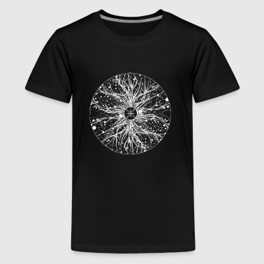 mysterious mandala - Teenage Premium T-Shirt