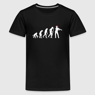 Jul Christmas flossing floss dance evolution - Teenager premium T-shirt
