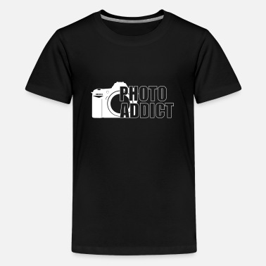 Photo Photo Addict - Teenager Premium T-shirt