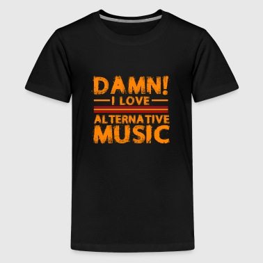 Alternative music - Teenage Premium T-Shirt