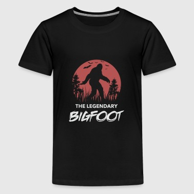 Bigfoot - Teenage Premium T-Shirt