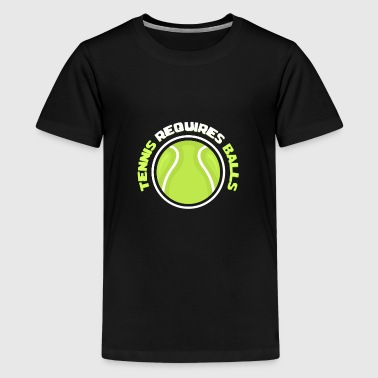 tennisbold - Teenager premium T-shirt