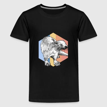 Roofdier Otter roofdier - Teenager Premium T-shirt