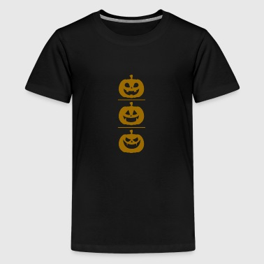 Pompoen - Halloween - Teenager Premium T-shirt