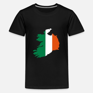 Irland Ireland - Teenager premium T-shirt