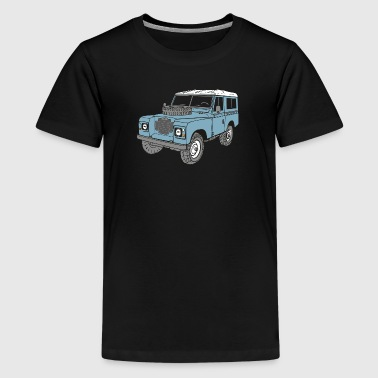 Land Rover Landie 4x4 Off Road Series 3 88 - Teenage Premium T-Shirt