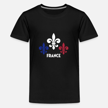 Front National France Français Française French Frankreich - T-shirt Premium Ado