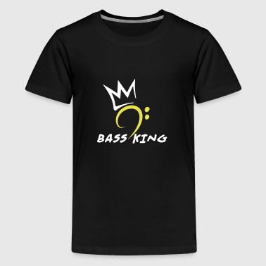 Bass King - Teenager Premium T-Shirt
