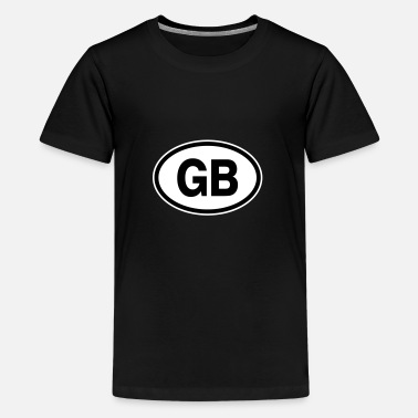 Gb GB Great Britain - Teenage Premium T-Shirt
