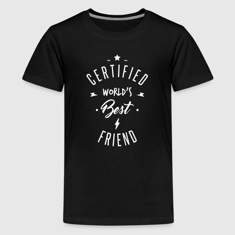 certified best friends - Teenage Premium T-Shirt