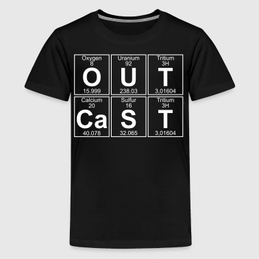 O-U-T-Ca-S-T (outcast) - Teenage Premium T-Shirt