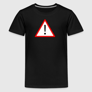 Attention! - Teenage Premium T-Shirt