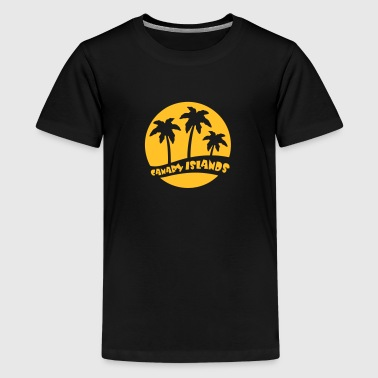 Canary Island Canary Islands - Gran Canaria - Teenage Premium T-Shirt