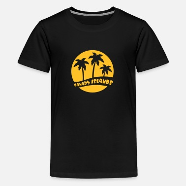Gran Canary Islands - Gran Canaria - Teenage Premium T-Shirt