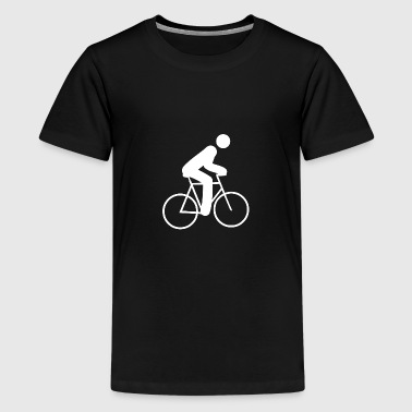 cyclist - Teenage Premium T-Shirt