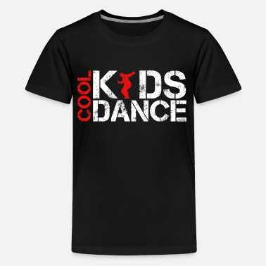 Old School Hip Hop Cool kids dance vintage - Premium T-shirt tonåring