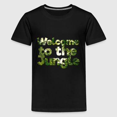 Jungle rainforest conservation amazon - Teenage Premium T-Shirt