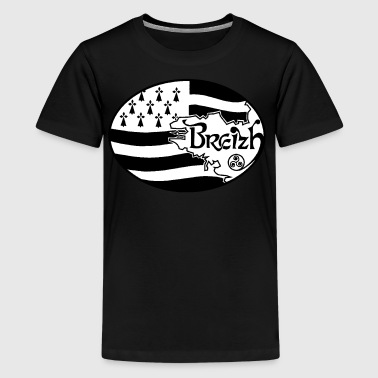 Drapeau Bretagne authentique - T-shirt Premium Ado