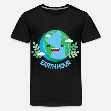 Earth-day Earth Day - Teenage Premium T-Shirt