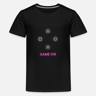 Game Gaming Game on - Teenage Premium T-Shirt