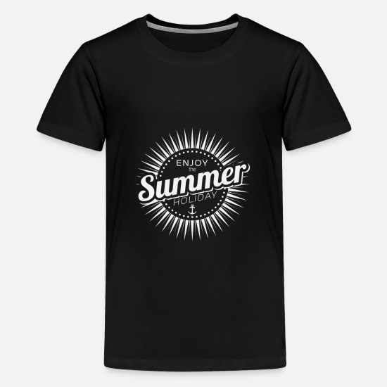 Love T-Shirts - summer - Teenage Premium T-Shirt black