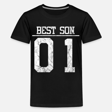 Best son number 1 partner look family - Teenage Premium T-Shirt
