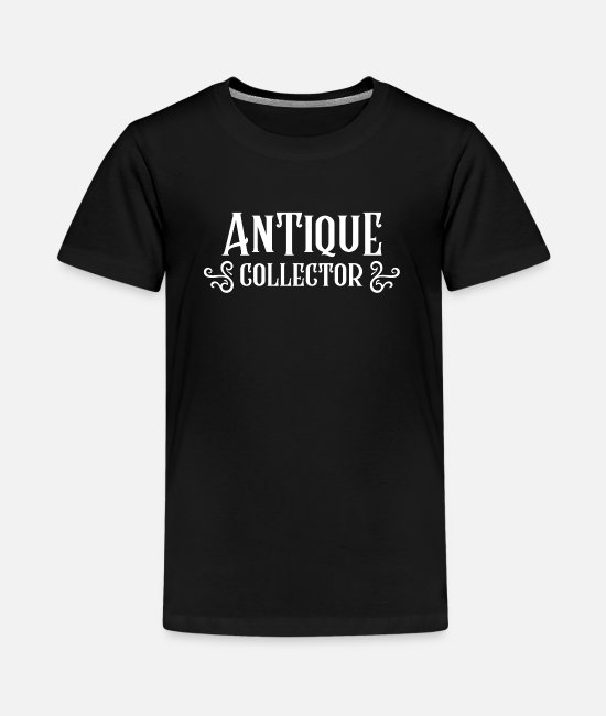 Negotiate T-Shirts - Collection antiques collectors - Teenage Premium T-Shirt black