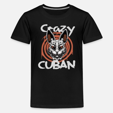 Cuban Cuban - Teenage Premium T-Shirt
