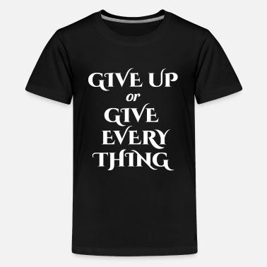 Motivationsspruch Motivationsspruch - Teenager Premium T-Shirt