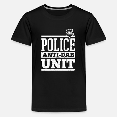 Police Dab Police Anti Dab Badge Gift - Teenage Premium T-Shirt