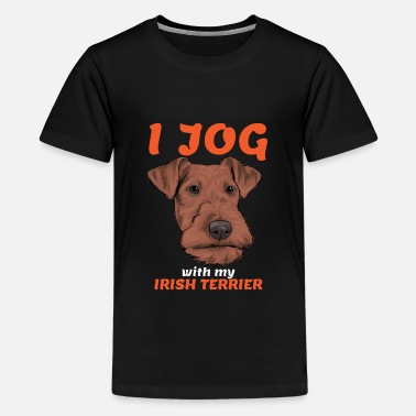 Irish Irish Terrier - Teenage Premium T-Shirt
