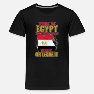 Old Egypt This is Egypt. This is my flag - Teenage Premium T-Shirt