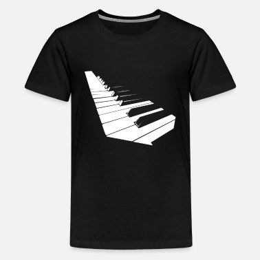 Piano piano - Teenager premium T-shirt