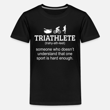 Triathlon Triathlon - Teenage Premium T-Shirt