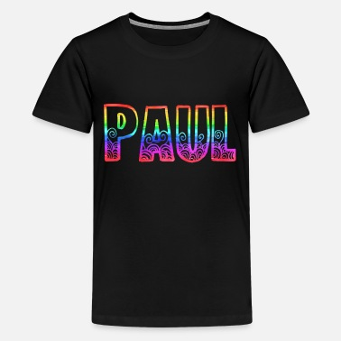 paul rs rainbow - Teenage Premium T-Shirt