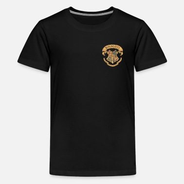 Harry Potter Hogwarts Coat of Arms small - Premium T-shirt tonåring
