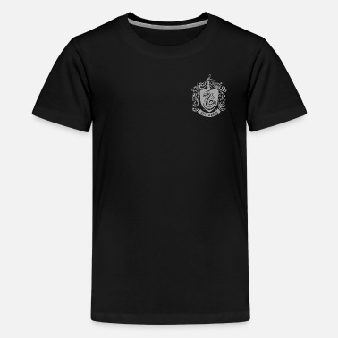 Harry Potter Slytherin Coat of Arms small - Premium T-shirt tonåring