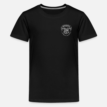Harry Potter Coat of Arms of Hogwarts small - Premium T-shirt tonåring