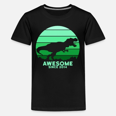 Since Awesome Since 2014 - Teenage Premium T-Shirt