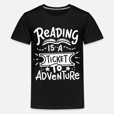 Read Read Read Read - Teenage Premium T-Shirt