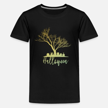 Tombstone Halloween tombstones - Teenage Premium T-Shirt