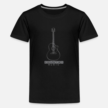 Country Country Musik - Teenager Premium T-Shirt