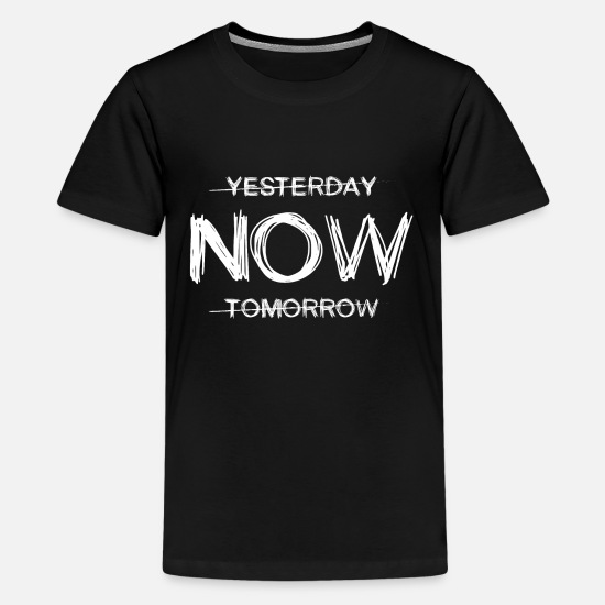 Business T-Shirts - Motivation Training Success Startup Gift - Teenage Premium T-Shirt black