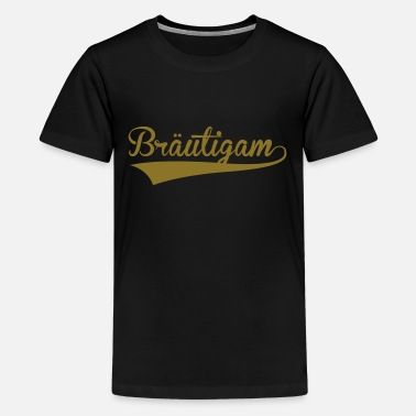 Bräutigam Bräutigam - Teenager Premium T-Shirt