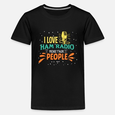 Radio Radio - Teenager Premium T-Shirt